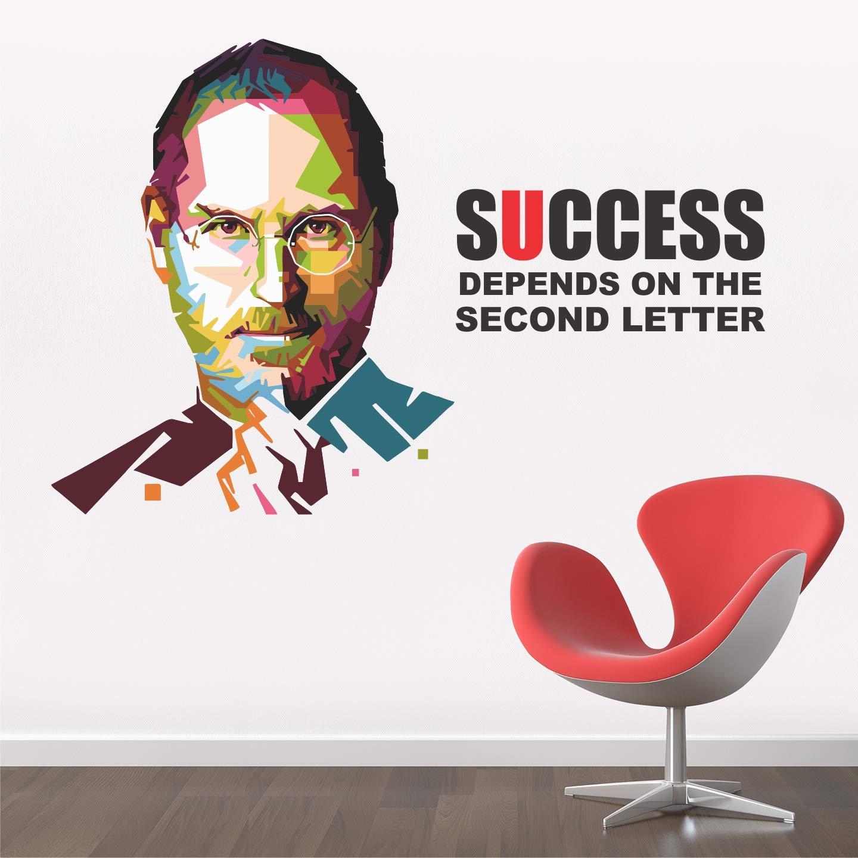 steve jobs motivational poster
